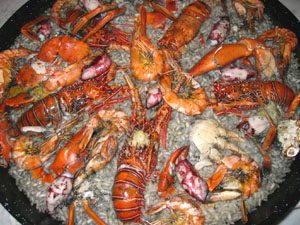 "Market Manila - ""The Last Supper"" – Seafood Paella with"