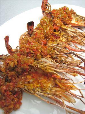 Market Manila Grilled Ulang Freshwater Shrimp With Garlic