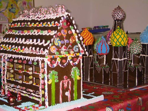 Candyhouse and St. Basil's Cathedral 2002