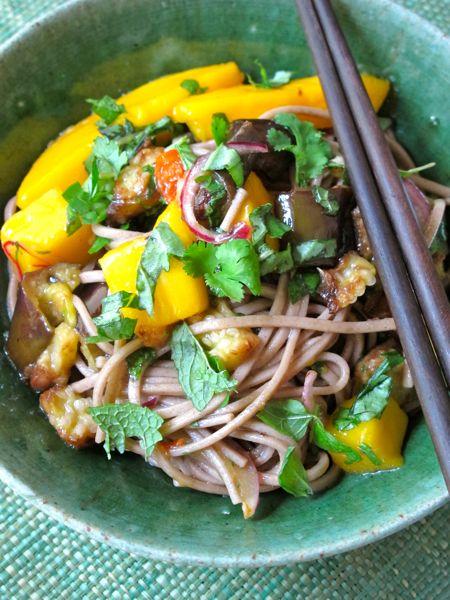 ... - Soba Noodles with Eggplant and Mango a la Ottolenghi - General